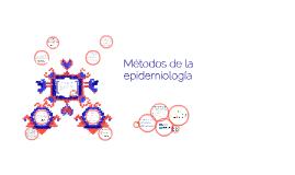 Metodos de la epidemiologia