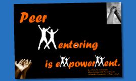 Final Reflection as Peer Mentoring