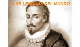 LAS LENGUAS DEL MUNDO