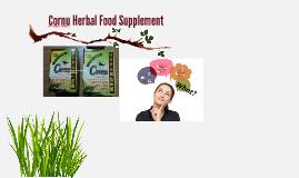 Cornu Herbal Food Supplement