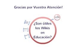 ¿Son útiles los Wikis en Educación?