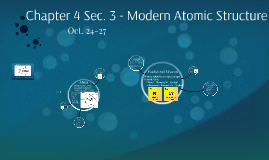 Chapter 4 - Atomic Structure