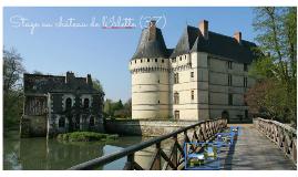 Stage au château de l'Islette (37)