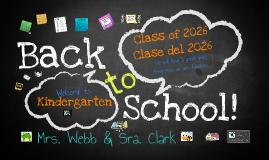 Noche de Regreso a la Escuela 2013-2014