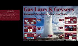 Gas Laws & Geysers