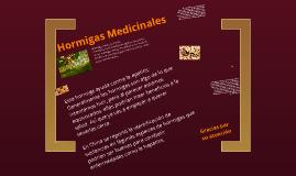 Hormigas Medicinales