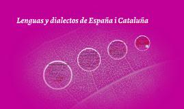 Lenguas y dialectos de España i Cataluña