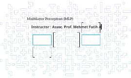 Multilayer Perceptron (MLP)