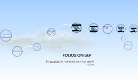 Copy of FOLIOS ONISEP