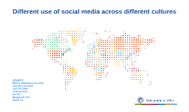 Different use how social media across different cultures
