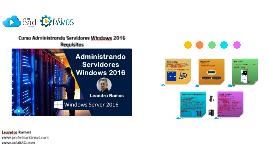 Windows Server 2016 - Requisitos