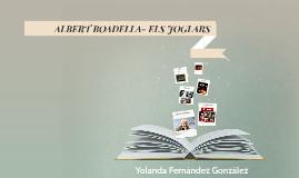 ALBERT BOADELLA- ELS JUGLARS
