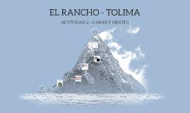 EL RANCHO - TOLIMA