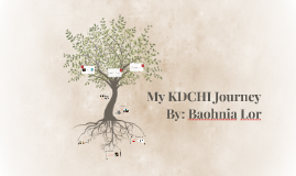 My KDCHI Journey