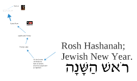 Rosh Hashanah; Jewish New Year