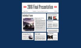 2016 Final Presentation