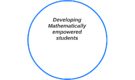 Developing Mathematically empowered students