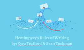 Hemingway's Rules of Writing