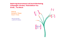 Gov-led social marketing campaigns