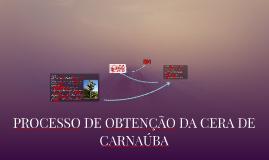 Avaliação das Propriedades da Candelilla e Carnaúba para sua