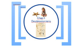 Chap.5 Deutérostomiens