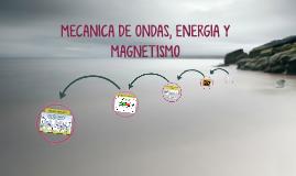 MECANICA DE ONDAS, ELECTRICIDAD Y MAGNETISMO