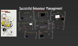 PGCE RPP Successful Behaviour Management