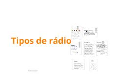 Tipos de emissoras