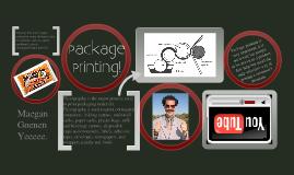 Copy of Package Printing