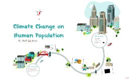 Climate Change on Human Population