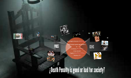 Death Penalty is good or bad for society