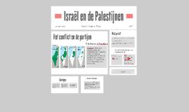 Israël en de Palestijnen PO Maud, Merel en Fleur