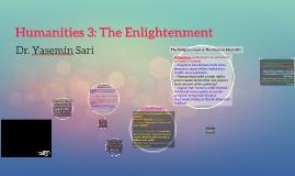 Humanities 3: The Enlightenment
