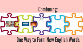 Combing to Form New English Words