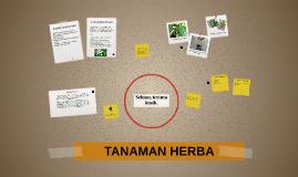 TANAMAN HERBA