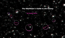 The Hitchhiker's Guide to the Galaxy (NI)
