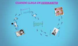 CUANDO LLEGA UN HERMANITO