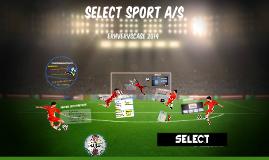 Copy of Erhvervscase 2014 - Select Sport A/S