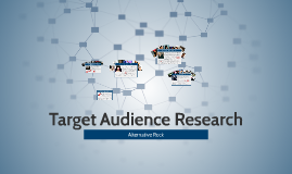 Copy of Target Audience Research