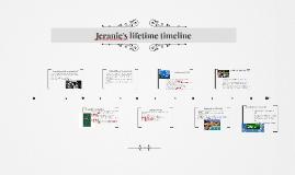 Copy of Jeranie's lifetime timeline