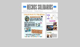 HECHOS SOLIDARIOS