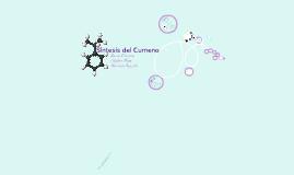 Copy of Síntesis del Cumeno