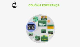 COLÔNIA ESPERANÇA