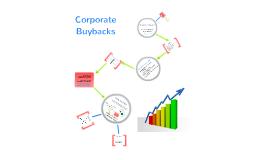 Corporate Buybacks