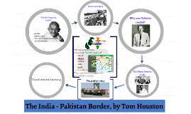 The India Pakistan Border