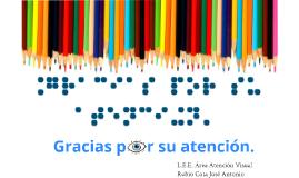 Copy of Atención a la Discapacidad Visual