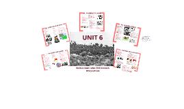 Unit IV - World War I and Russian Revolution