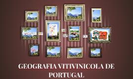 GEOGRAFIA VITIVINICOLA DE PORTUGAL