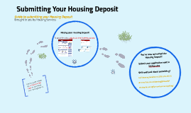 Submitting Your Housing Deposit in CardinalStudents