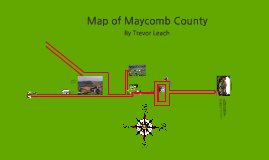 Map of Maycomb by Trevor Leach on Prezi